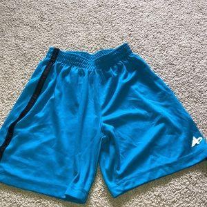 Blue and black boys shorts